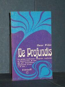 Oscar Wilde - De Profundis - Feltrinelli, UE 521 - Prima ed., 1966