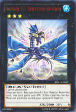 YuGiOh Number 17: Leviathan Dragon - Red - DL15-EN012 - Rare - Unlimited Edition
