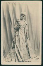 Caron Theater edwardian lady original old 1910s photo postcard
