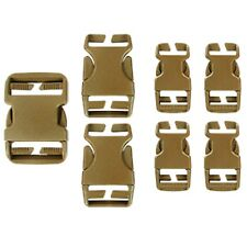 Condor Tactical Backpack Gear Buckle Replacement & Easy Repair Kit Coyote Brown