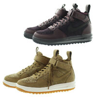 Nike 855984 Mens Lunar Force 1 Flynkit Flax High Top Work Boot Shoes