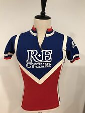 VTG Santini R+E Cycles Specialized Cycling Jersey Made Italy Size 2 Small EUC