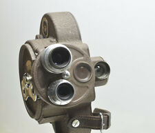 BELL & HOWELL FILMO 70 DA 16mm Turret Movie Film Camera, 2 Lenses, Case/Manual