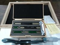"""Mitutoyo 103-904-10 Outside Micrometer Set: 0-6"""""""