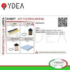 Kit Filtrazione Fiat 500 II 1.3 MJ Panda II 169) 1.3 MJ 4x4 UFI  - Ydea K106FT