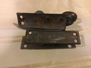 Vintage Victorian heavy Brass Sash Window Latch Lock Catch Fastener Old