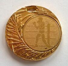 Médaille dorée, sport boxe, diamètre: 38 mm, voir photos.