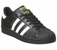 Adidas Superstar Trainers Black White Trainers Shoes