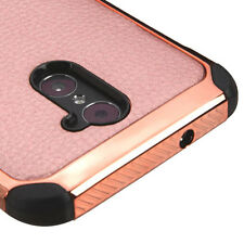 ZTE Max Duo 4G (Z962G) / Grand X Max 2 - HYBRID ARMOR CHROME SKIN CASE ROSE GOLD
