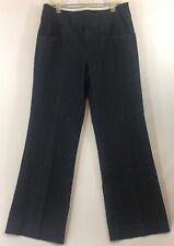 Intro. Size 10 Trouser Jeans Dark Wash Stretch Dress Denim Womens