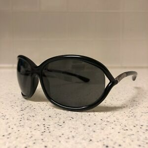 Authentic Tom Ford Whitney Black Butterfly Round Womens Sunglasses