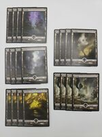 20x Full Art Land Battle For Zendikar Swamp Magic The Gathering MTG Free Ship US