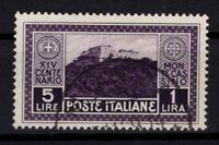 P131717/ ITALY / SASSONE # 267 USED - CV 330 $