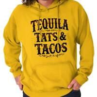 Tequila Tattoos Tacos Mexican Foodie Gift Hoodies Sweat Shirts Sweatshirts