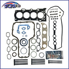 New Full Head Gasket Set + Bolts Fit 00-08 Toyota 1.8L 1Zzfe Vvt-i Cylinder