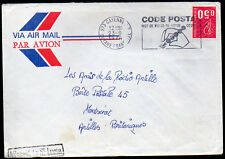 FRENCH GUIANA: (15217) CAYENNE postmark/cover