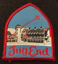 JUG END Lost Ski Area 1930s-1980 Skiing Patch MASSACHUSETTS MA Travel