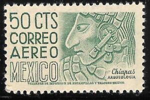 pa020a Mexico Arquite MNH paper 1 Sc#C193 Mc#986 Et#aa020a green-olive