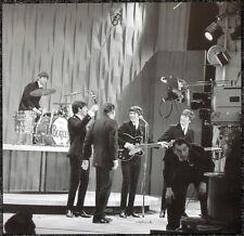 THE BEATLES POSTER PAGE 1964 RECORDING THE ED SULLIVAN SHOW JOHN LENNON . J20