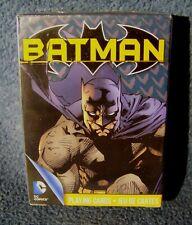 Batman Playing Cards - Aquarius Entertainment for DC Comics - New - Sealed