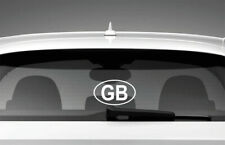 GB Car Sticker Styling Window Decal, White