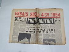 Documentación automóvil - L'Auto Journal : 1er mars 1954