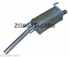 VAUXHALL COMBO 1.3 CDTi (04-09) EXHAUST REAR SILENCER SQUARE BACK BOX