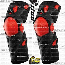 Thor 2016 Black Red Force XP Knee Guards Adult Protection L/XL Motocross Enduro