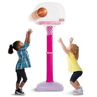 Little Tikes TotSports Easy Score Basketball Set Pink Girls Outdoor Indoor New
