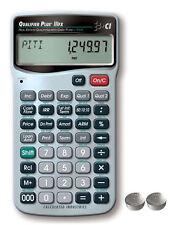 Calculated Qualifier Plus Iiifx Financial Calculator 3430 w/Spare Lr44 Batteries