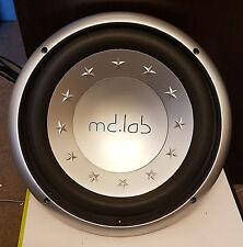 """MDLAB 12"""" Car Audio Subwoofer - 200W RMS, 400W Max"""