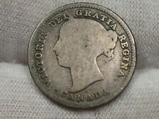 Better Date 1885 10¢ Cent CANADA.  #11