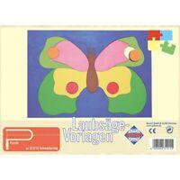 PEBARO Laubsägevorlage Schmetterling, Puzzle