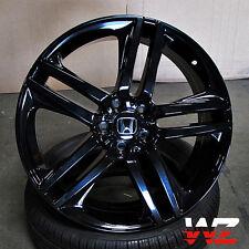 """20"""" Honda Wheels Gloss Black Fits Accord Ex Lx Coupe Sedan 5 Lug Civic 5x114.3"""