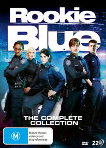 Rookie Blue: The Complete Collection - DVD (NEW & SEALED)