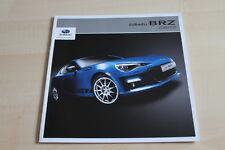 108987) Subaru BRZ - Zubehör - Prospekt 06/2012