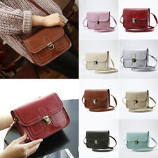 Womens Leather Shoulder Crossbody Bag Satchel Messenger Bag Purse Handbag Tote