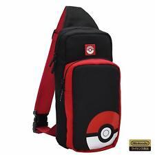 New Hori Nintendo Switch Pokemon Pocket Monster Ball Shoulder Pouch Bag Case