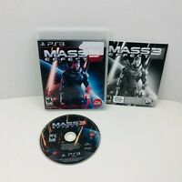 Mass Effect 3 Sony PlayStation 3 PS3 Video Game Complete