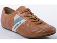 Head 180120 Damenschuhe Sneaker Leder Halbschuihe braun Gr.36-42 Neu2