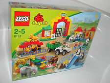 LEGO® Duplo 6157 Großer Stadtzoo Neu OVP_Big Zoo NEW MISB NRFB fits to 6156 6158