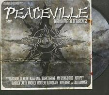 PEACEVILLE Through The Eye Of Darkness DVD PRO Katatonia My Dying Bride Autopsy