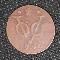 NETHERLANDS INDIES - VOC - Holland 1 Duit 1790