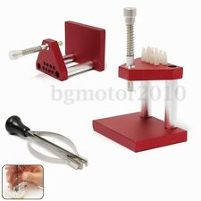 Watch Repair Fitting Tools:Hand Presto Presser+Lifter Puller Plunger Remover Set