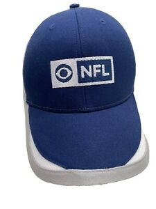 CBS Sports NFL Adjustable Navy Blue & Gray Ball Cap Hat