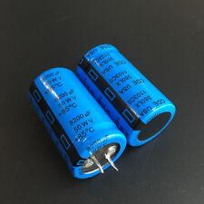 2pcs 8200uF 50V CDE 380LX Series 25x45mm 50V8200uF Snap-in PSU Capacitor
