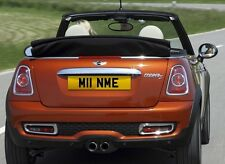 M11 NME Mini Cooper Minime numberplates registration plates cherished number