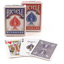 2 Mazzi carte da gioco Bicycle Standard index Rosso-Blu poker magia e prestigio
