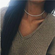 2020 Fashion Charm Pearl Pendant Necklace Chain Choker Women Jewelry New