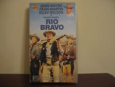 John Wayne Dean Martin Ricky Nelson Rio Bravo Video VHS  LIKE NEW